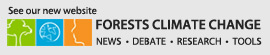 Forests Climate Change website