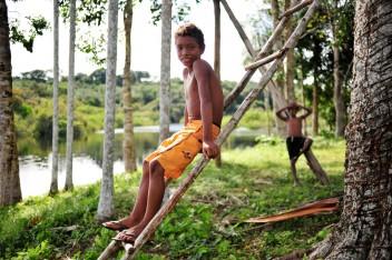Las políticas de conservación y tenencia de la tierra deben armonizarse para mejorar los medios de vida de las personas que habitan los bosques de América Latina. Neil Palmer/CIAT