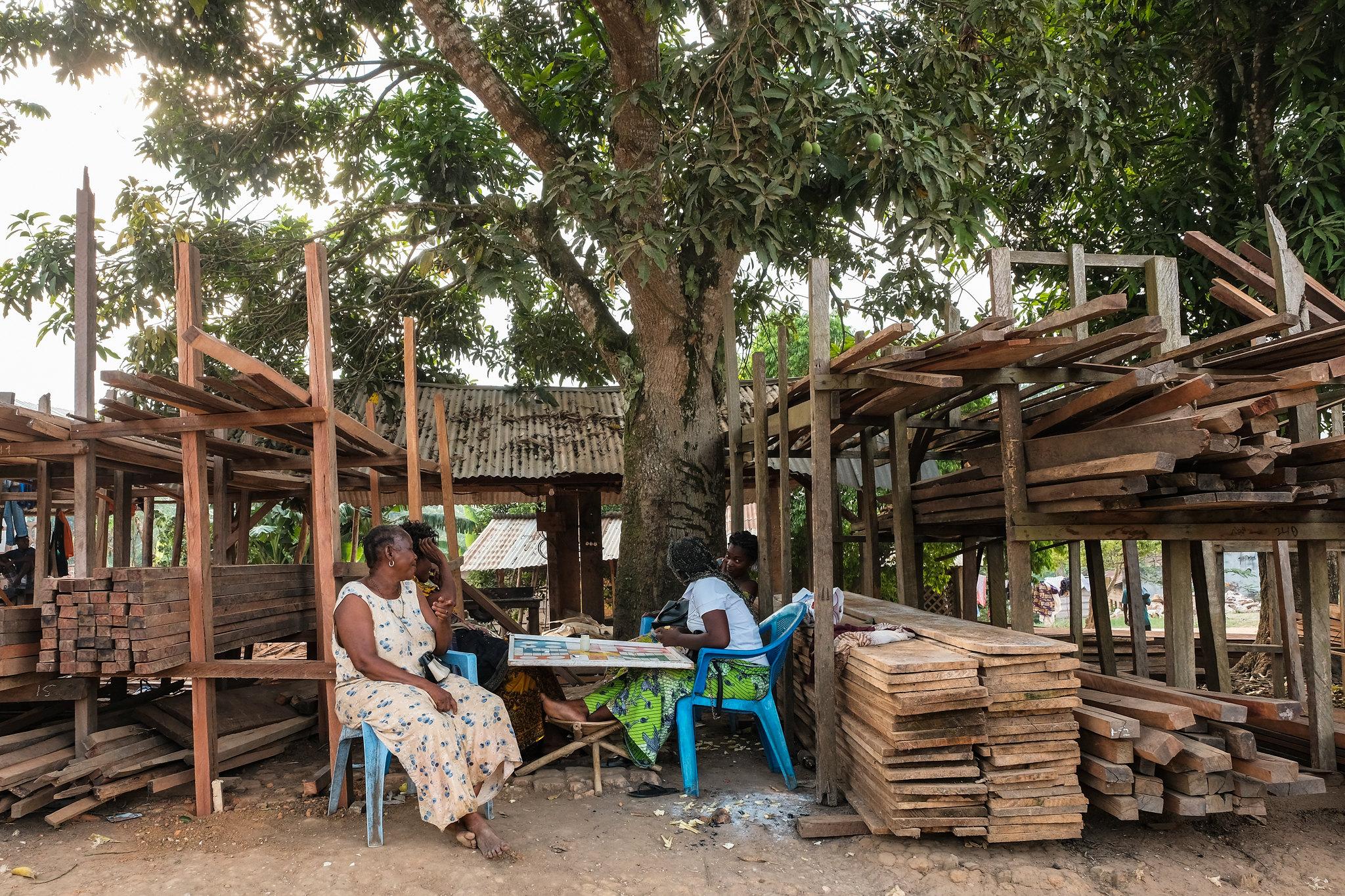 Le rôle de la femme dans la chaine d'exploitation artisanale du bois d'œuvre