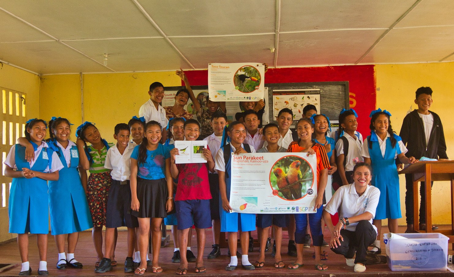 Life lessons: Teaching conservation and celebrating culture in Guyana